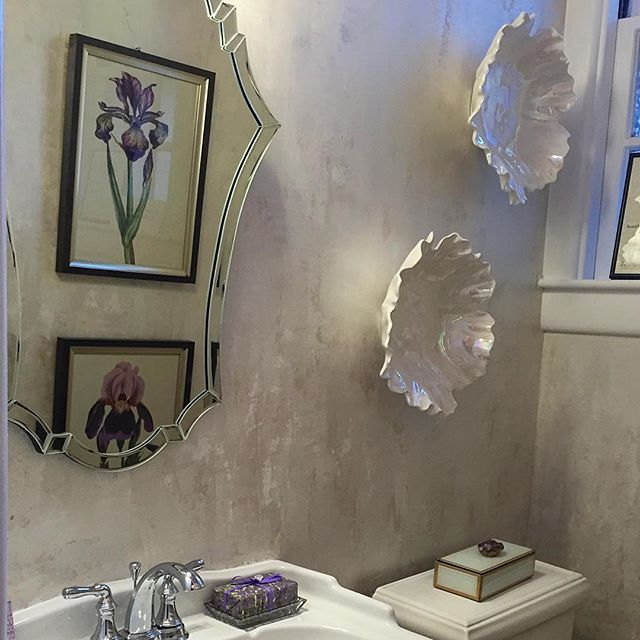 Gorgeous Venetian Plaster wall finish by Linda Gale Boyles of Southern  Inspirations | Modern Masters