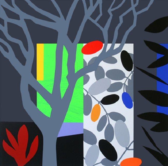 rise art dark garden by bruce mclean