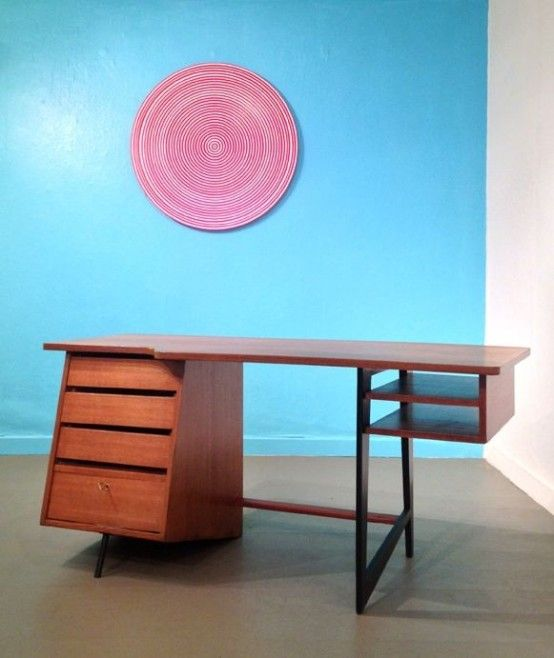 36 Elegant Mid-Century Desks To Get Inspired | DigsDigs