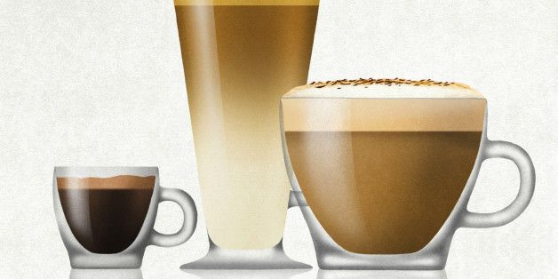 Difference between 38 different coffee drinks
