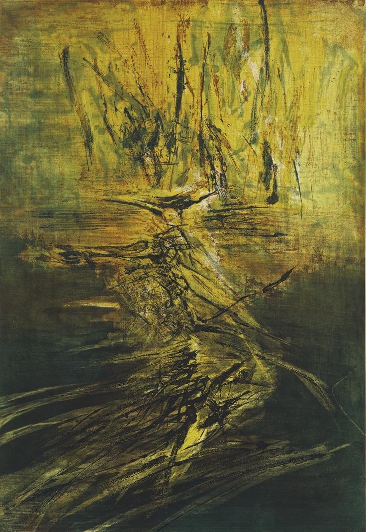 Zao Wou-Ki (Zhao Wuji) - Sotheby's