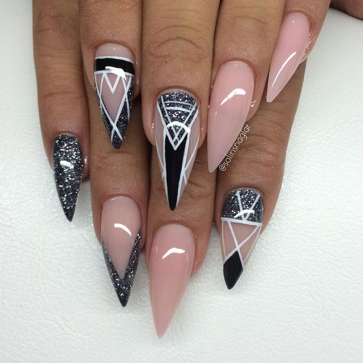 10 images about stiletto nails on pinterest nail art stiletto nail art and nailart. Black Bedroom Furniture Sets. Home Design Ideas