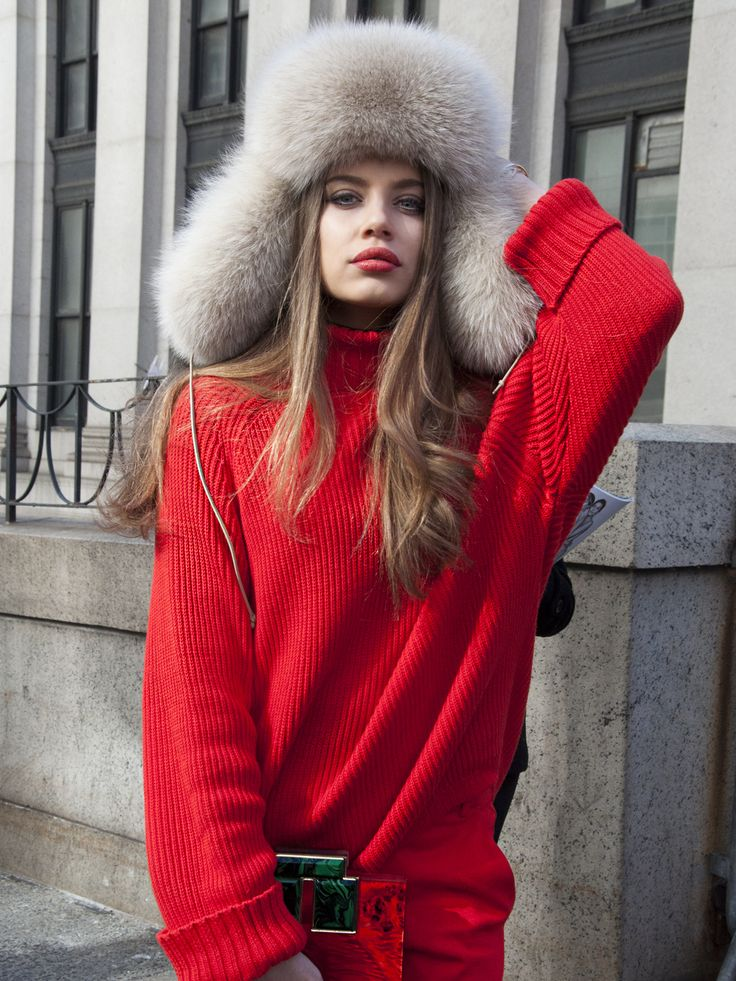 Xenia Tchoumitcheva from Chic Overdose - NY Fashion Week Street Style 2016 — amychendesign.com