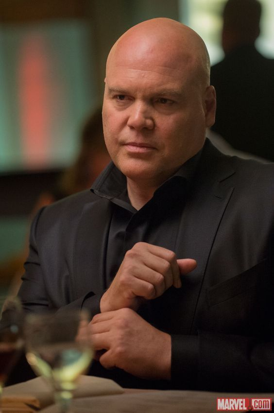 Vincent D'Onofrio as the Kingpin in Marvel's upcoming Daredevil series on Netflix