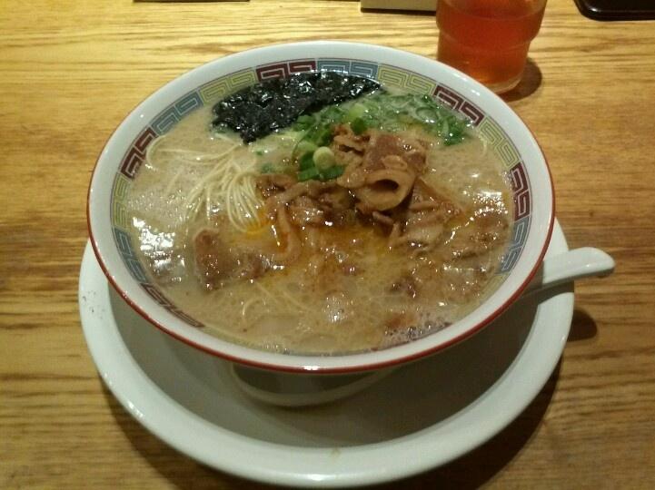 肉麺 @博多一風堂