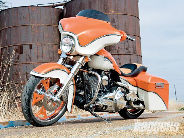 2008 Harley Davidson Street Glide Riding