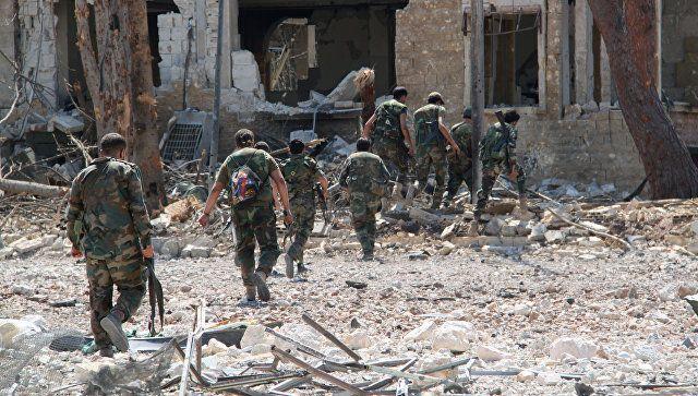 Το Κουτσαβάκι: Ο στρατός της Συρίας παρέχει με  ασφάλεια τον  εφο...