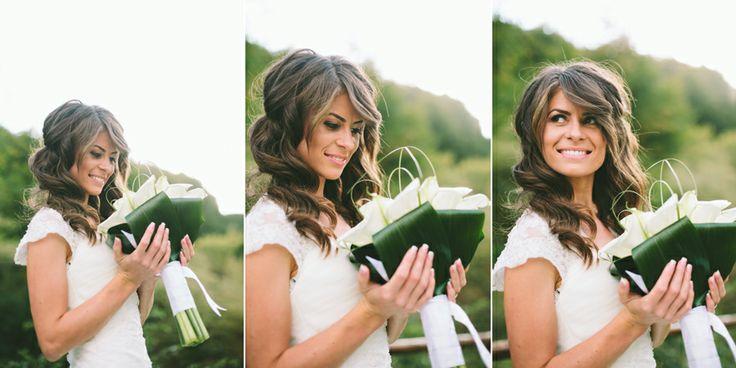bride, wedding bouquet