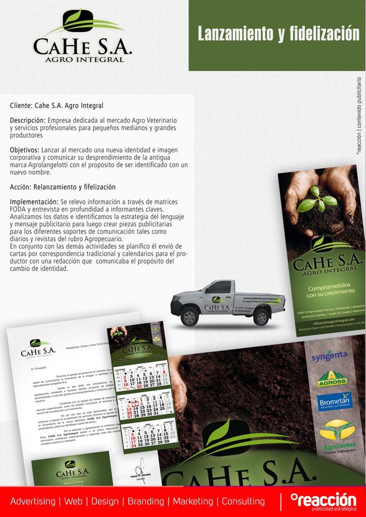 Resistencia, Chaco, ArgentinaSomos una empresa Argentina de comunicación integral compuesto por un equipo de profesionales en publicidad, comercialización, diseño gráfico, social media y desarrollo web, con el sencillo objetivo de lograr que la marca de nuestros clientes alcance con éxito sus propósitos. +5493624562950