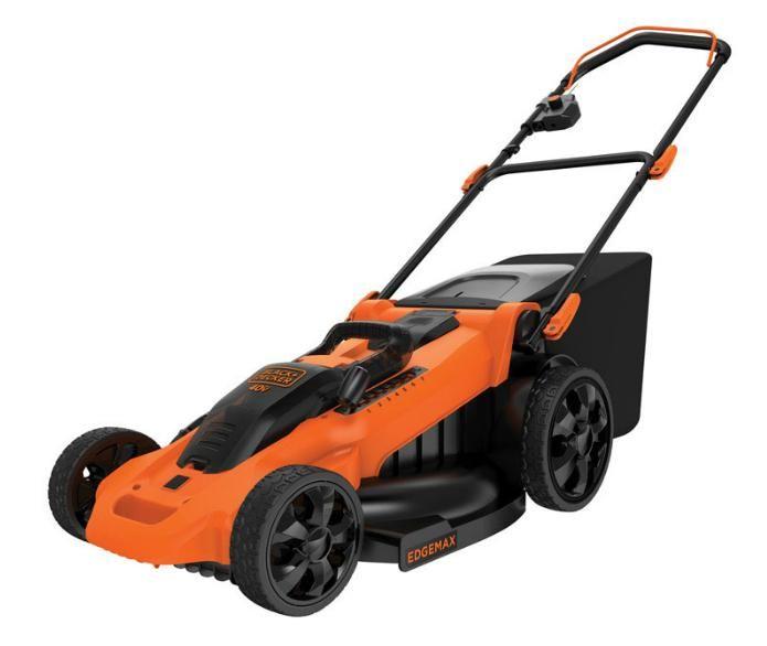 Black & Decker CM2040 Cordless Lawn Mower, 40 Volts