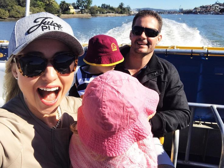We're on a boat!  There's not many better ways to spend a beautiful winter day in Brissy than cruising the River on a CityCat. #thekidsloveit #citycat #transdev #brisbane #winter @crfitnessgroup