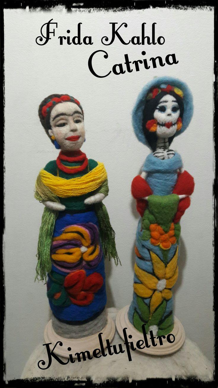 Frida kahlo y Catrina