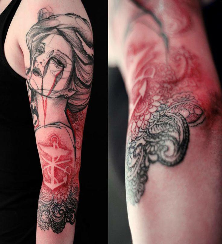 283 best skin images on pinterest tattoo ideas avant for Avant garde tattoo