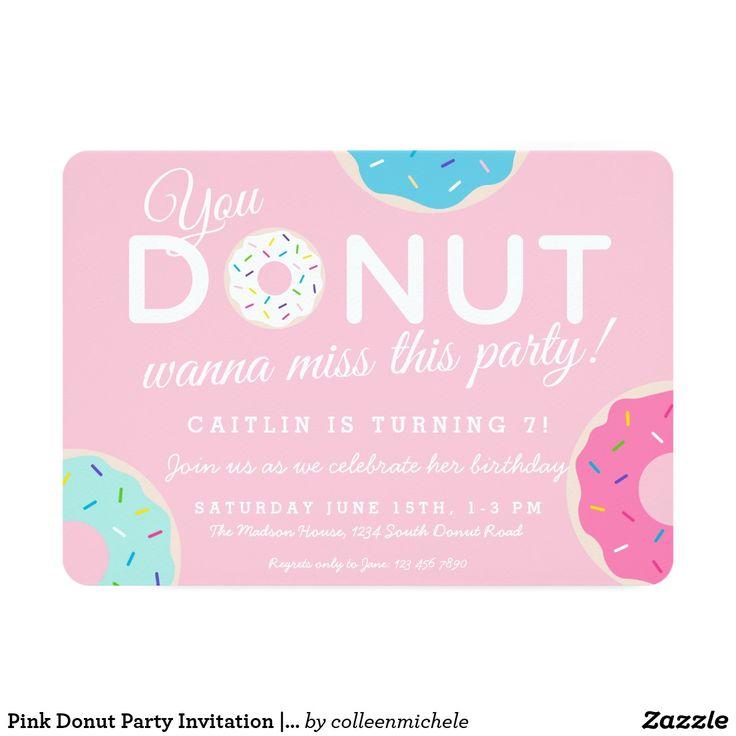 Best 25+ Donut birthday parties ideas on Pinterest   Sprinkle ...