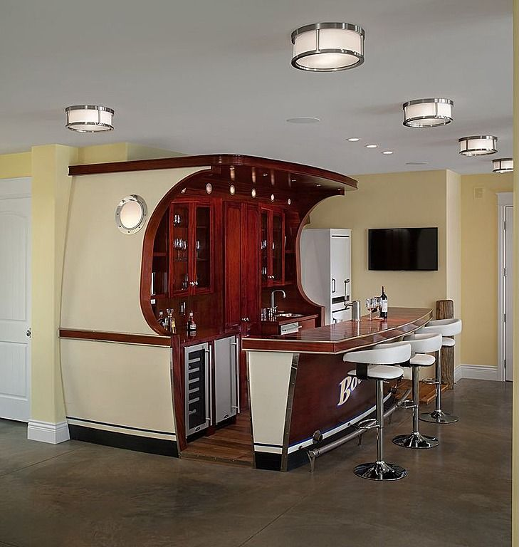 Nautical Man Cave Ideas : Eclectic bar find more amazing designs on zillow digs