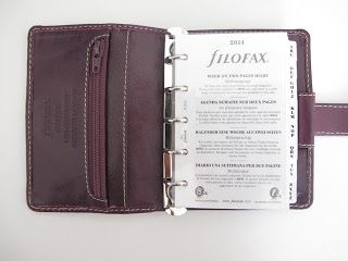 My Purpley Life: How To Choose a Filofax Personal Organiser