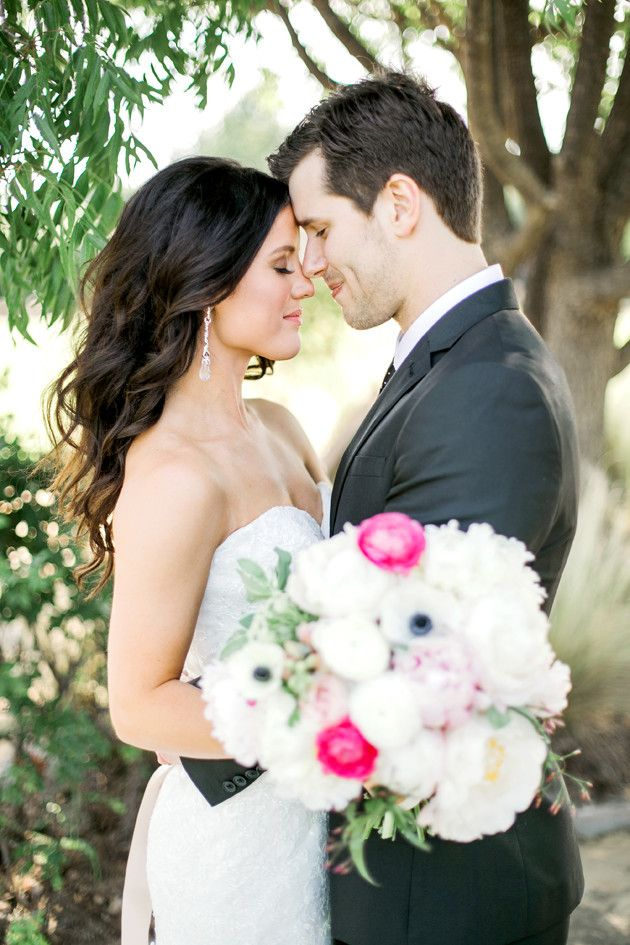 Glamorous Glitter & Grey Wedding