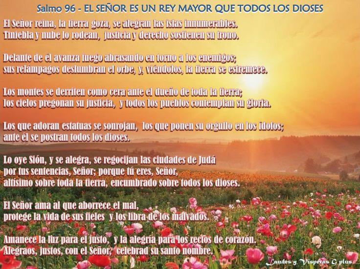 #LAUDES 23 mzo http://www.liturgiadelashoras.com.ar/sync/2016/mar/23/laudes.htm Salmo 94 Himno: EN TUS MANOS, SEÑOR, PONGO MI VIDA. Salmo 76 - RECUERDO DEL PASADO GLORIOSO DE ISRAEL. Cántico: ALEGRIA DE LOS HUMILDES EN DIOS 1S 2,1-10 Salmo 96 - EL SEÑOR ES UN REY MAYOR QUE TODOS LOS DIOSES. LECTURA BREVE   Is 50, 5-7 Cántico de Zacarías. EL MESÍAS Y SU PRECURSOR      Lc 1, 68-79 PRECES Padre nuestro... ORACION...