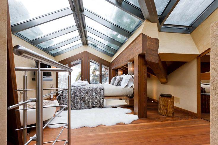 Chalet Zermatt Peak Zermatt gallery bedroom