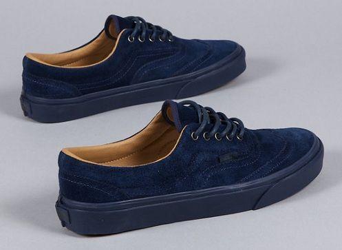 Vans Blue Suede