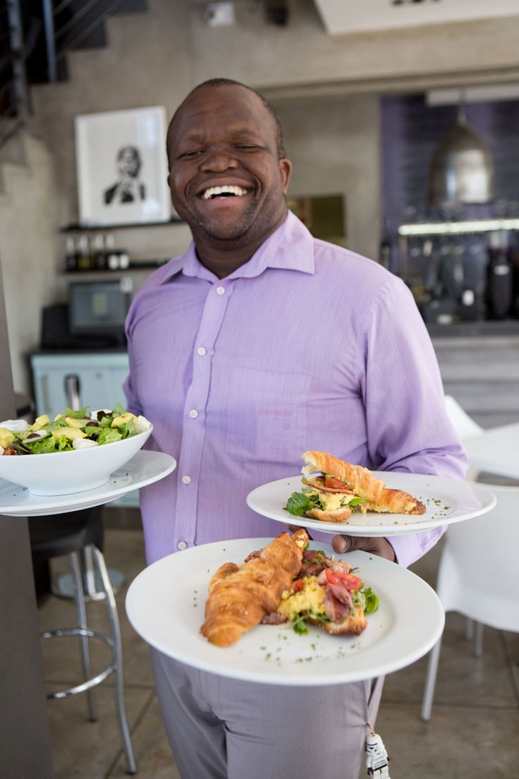 Paddy Khuele from Thrive Cafe