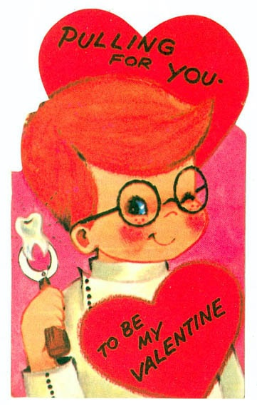 Pulling For You To Be My Valentine By Pageofbats Via