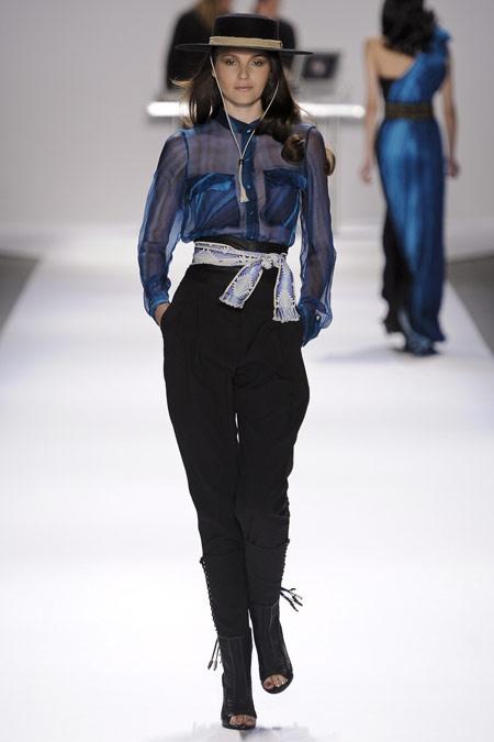 Moda gaúcha nas passarelas de NY