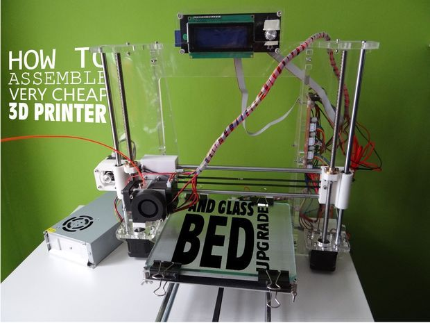 How to assemble very cheap 3D printer