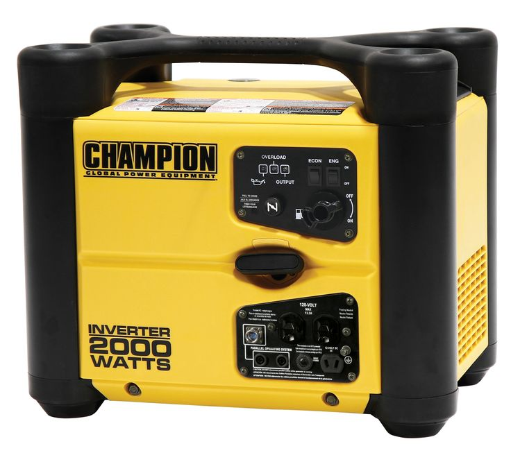 Champion 1700/2000 Watt Inverter Generator w/USB – 73536i