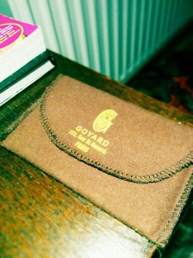 Goyard card holder