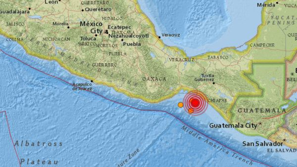 (adsbygoogle = window.adsbygoogle    []).push();   El sismo de magnitud 5,8 ha sacudido la madrugada de este sábado la costa de México, en el Golfo de Tehuantepec,informael Servicio Geológico de Estados Unidos (USGS, por sus siglas en inglés). El epicentro del terremoto se ha...