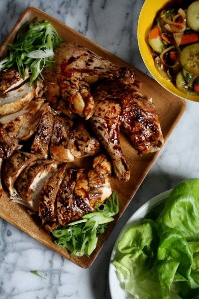 Chinese Five Spice Roasted Peking Chicken For Christmakkah