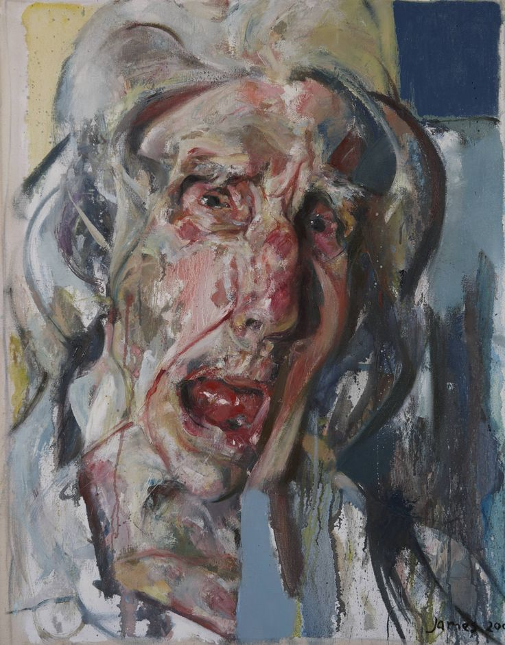 Andrew James - Ivy Cole III 2000 Oil on Canvas 36 x 26 / 91 x 66