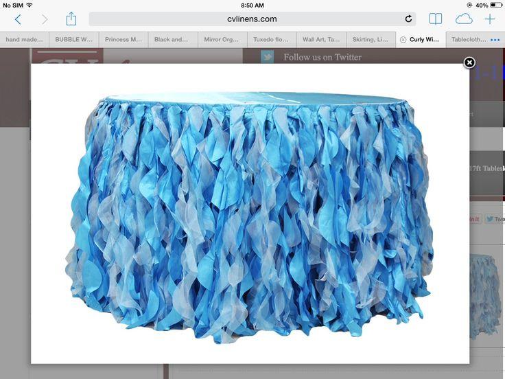 DIY tutu table skirt | AMNB - 1st Birthday Party | Pinterest
