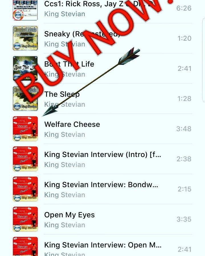 #BUY #da #Album #now #on #Itunes https://itunes.apple.com/us/artist/king-stevian/id954921001 #TOP #5 #FIVE #SELLING #TRACKS #welfarecheese #intro #bondwoman #interview #& #Open #My #Eyes #OpenMyEyes #interviews #GospelRap #christianrap #jesusmusic #lecrae #christianrock #truth