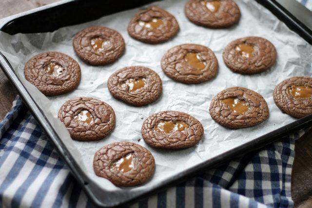 Glutenfria Chokladkakor med Kola