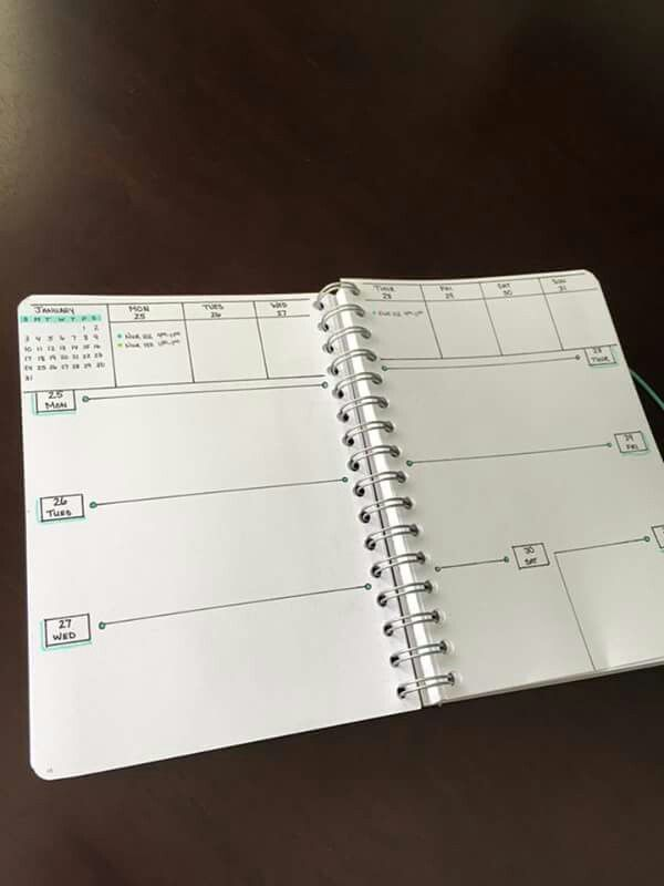 Bullet Journal - Weekly und Daily