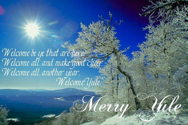 Merry Yule! Merry Winter Solstice! | Winter | Pinterest