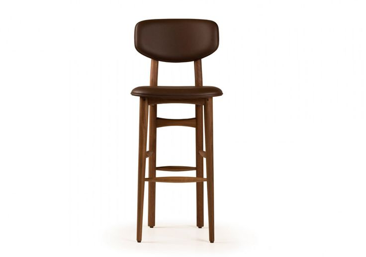 Autoban 249T Butterfly Bar Stool with Leather Seat | Remodelista