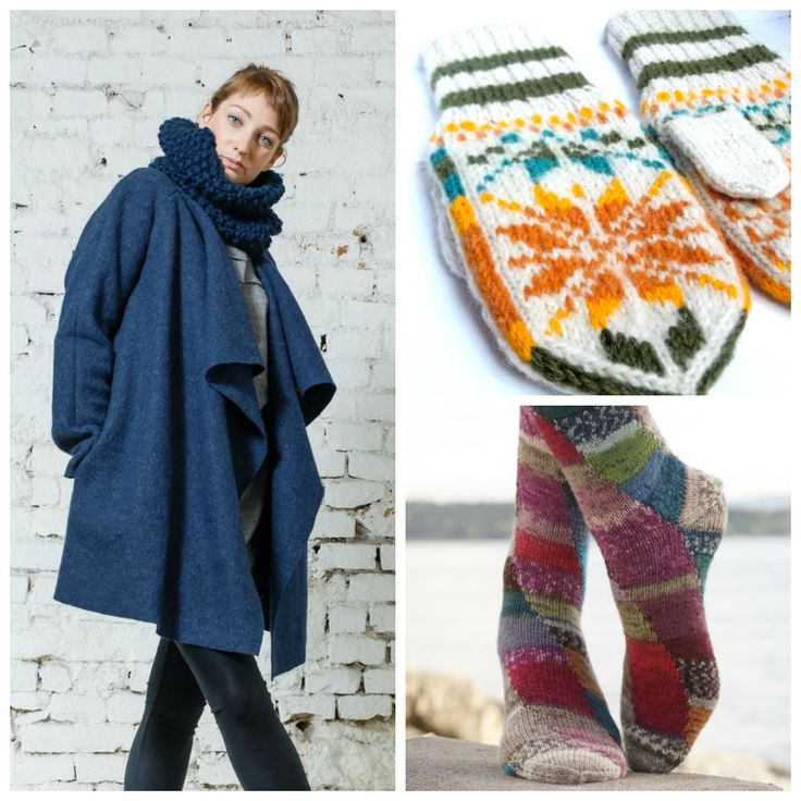 The Picture Garden: Austrian Etsy ... gets dressed in winter woolies!