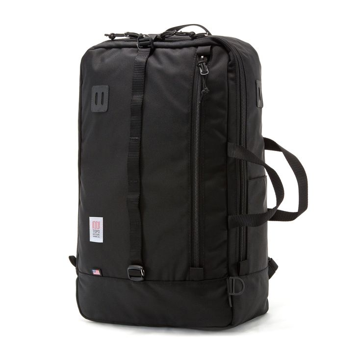The Travel Bag. Big enough to hold everything we needed but still compact enough to make sure it passed as a carry-on. 1000d Cordura. Made in Colorado, USA.
