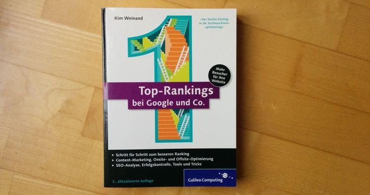 Buchtipp: Top Rankings in der Google Suchmaschine  #Buchtipp #Google #SEO