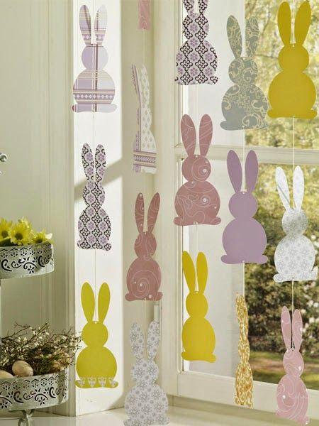 apró gyönyörűségek: Húsvéti dekor ötletek