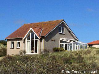vakantiehuis Het Binnenduyn op terschelling vakantie eiland - 6 persoons huis in de duinen van Midsland aan Zee