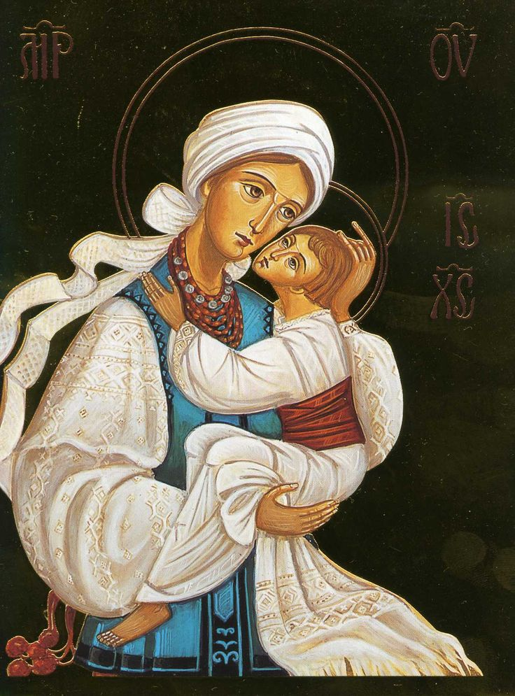 Madonna of Poltava by Daria Hulak-Kulchytsky
