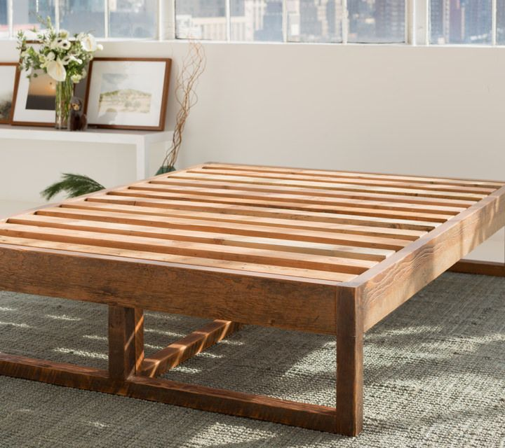 Eco Wood Non Toxic Natural Bed Frame In 2020 Wood Bed Frame Diy Wooden Bed Frames Bed Frame