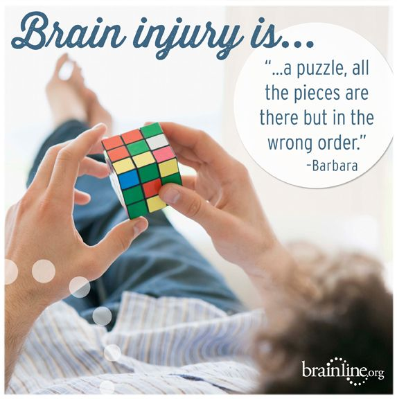 #TBI defined by the people who are living with it - From BrainLine.org