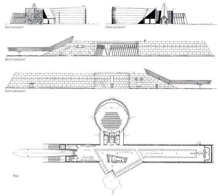 Planos del museo (Fuente: GA Contemporary Architecture)