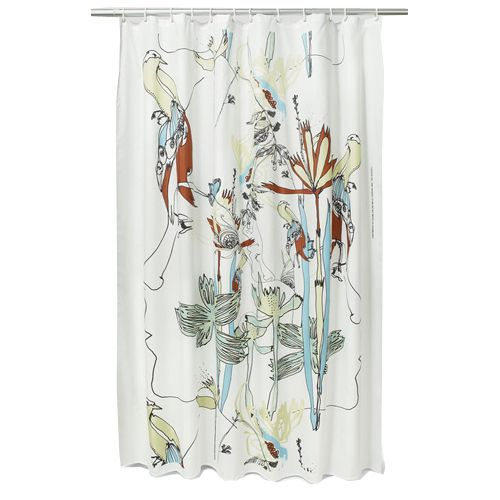 Marimekko Iso Satakieli Long Polyester Shower Curtain