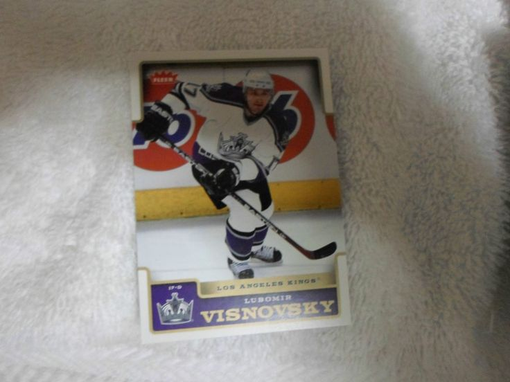 2006-07 FLEER5 BASE NHL LUBOMIR VISNOVSKY # 92 ( DEFENCE ) #LosAngelesKings